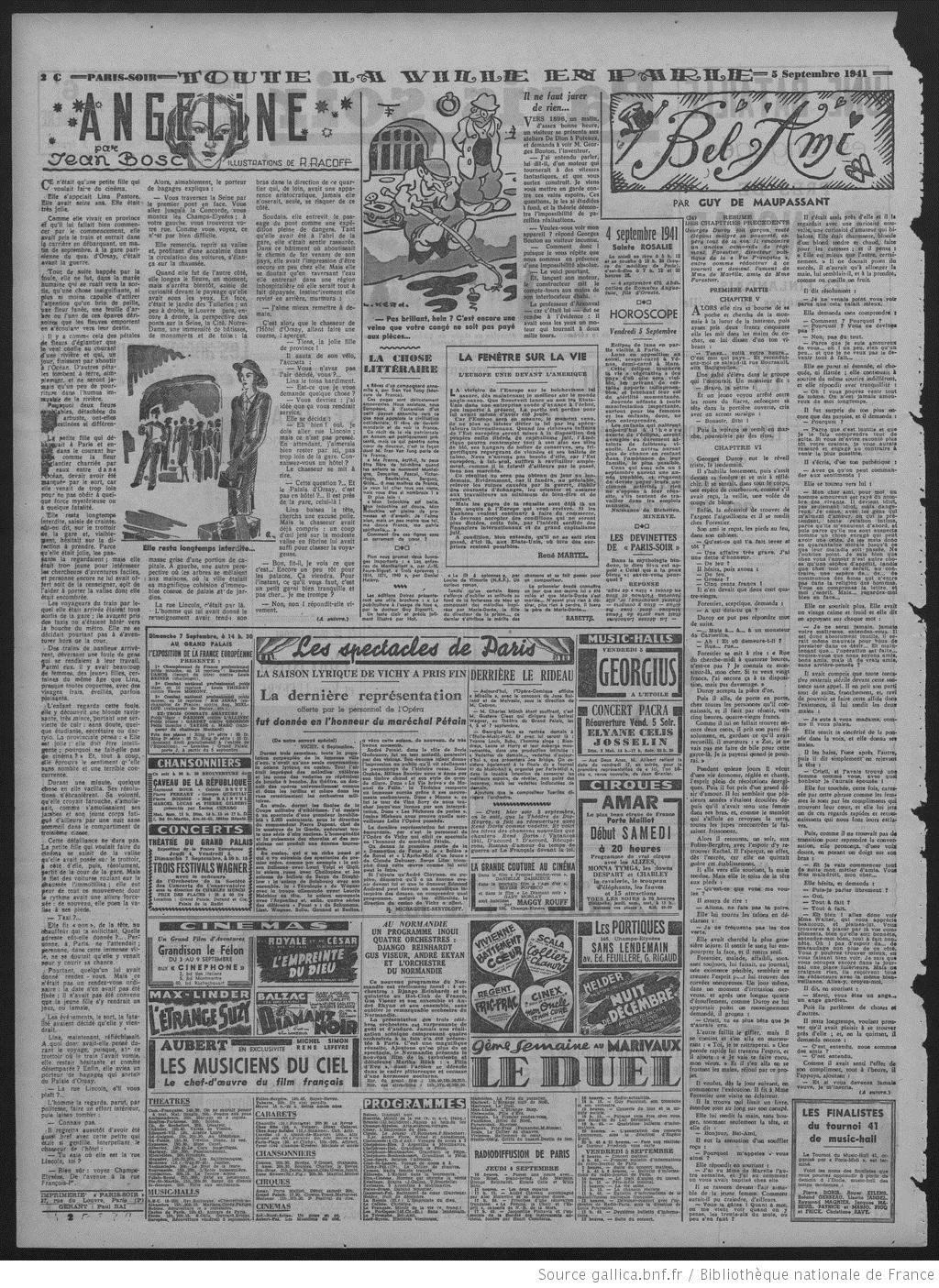 TranVanTung_page Paris-soir 1941
